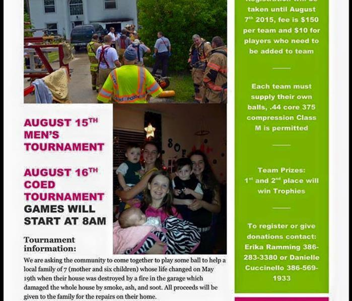 Charity Tournament for the Casey-Dixon Family