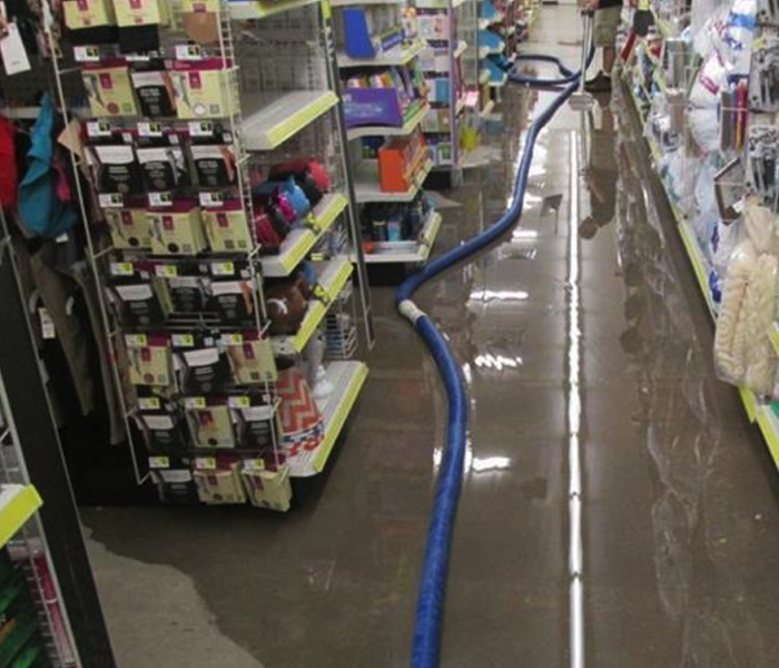 Flood Damage Cleanup - New Smyrna Beach Retail Store