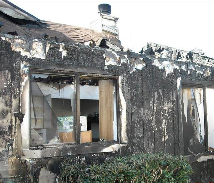 Fire Damage Holiday Home Fires